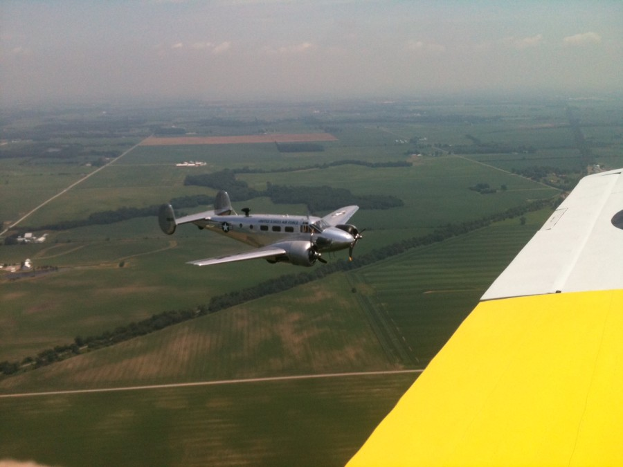 Jordan and Nikki Brown's C-45H from our T6
