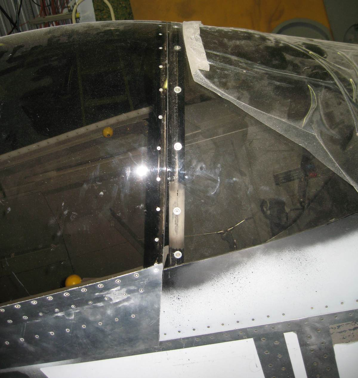 Canopy to Windshield Gap