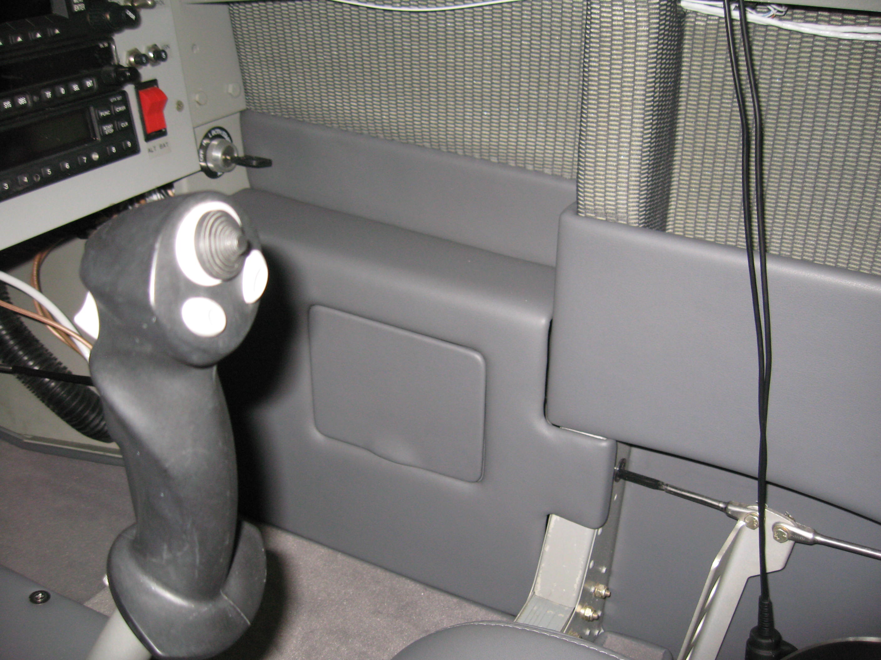 Right Side panel with fuse access cover